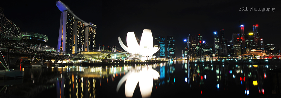 Singapore Panorama 2 by z3LLLL