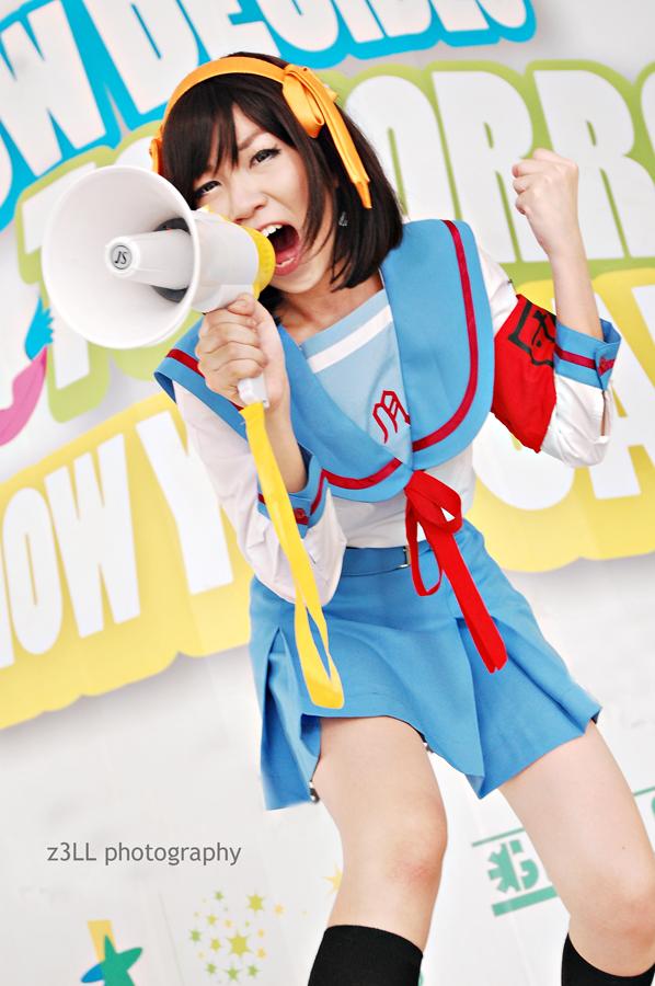 Haruhi Suzumiya by z3LLLL