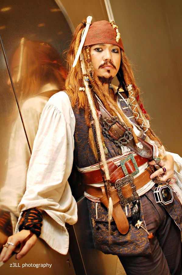 Captain Jack Sparrow by z3LLLL
