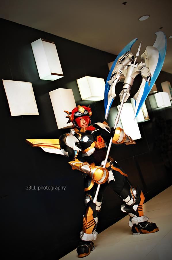 RF Online: Bellato Warrior by z3LLLL