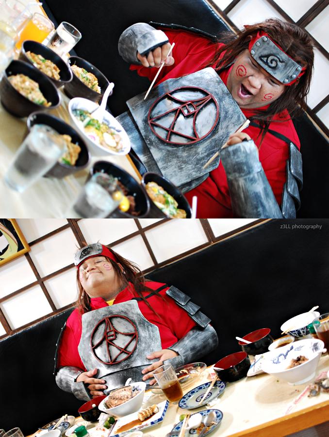Chouji Akimichi: Foodtrip by z3LLLL