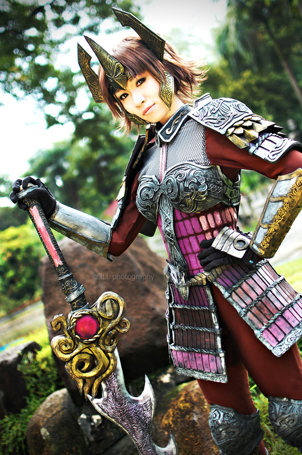 SW: Ginchiyo Tachibana by z3LLLL