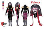 Polona Turnaround Sheet (Sinister Sisters) by nickcaponi