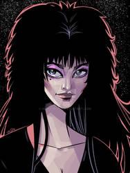 Elvira by nickcaponi