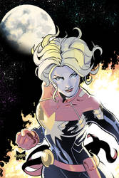 Captain Marvel Color Collaboration!