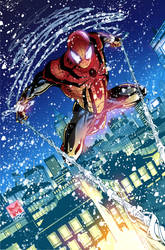 Ben Reilly Spidey Pinup COLORS