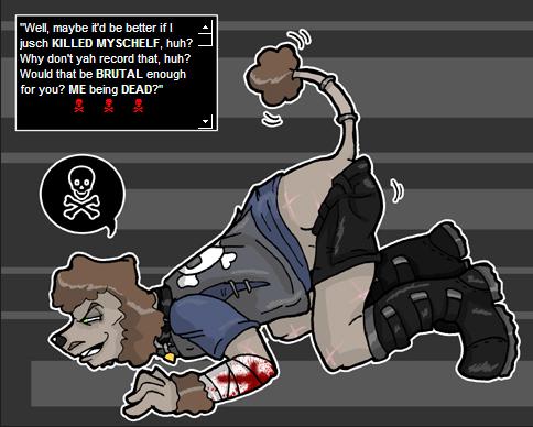 Poodleface vr Playful?? by Homosorcerer