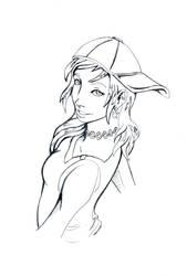 Free Sketch - Miu
