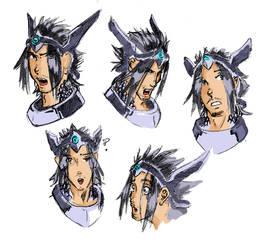 Eschwen- Character Faces