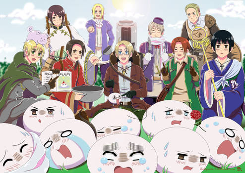 Hetalia: Fantasia Gone Wrong