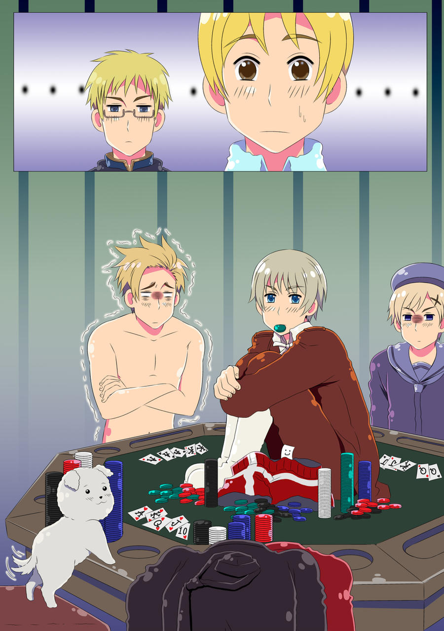 APH Request: Poker Face by khakipants12