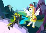 Anthena vs Sky Sword