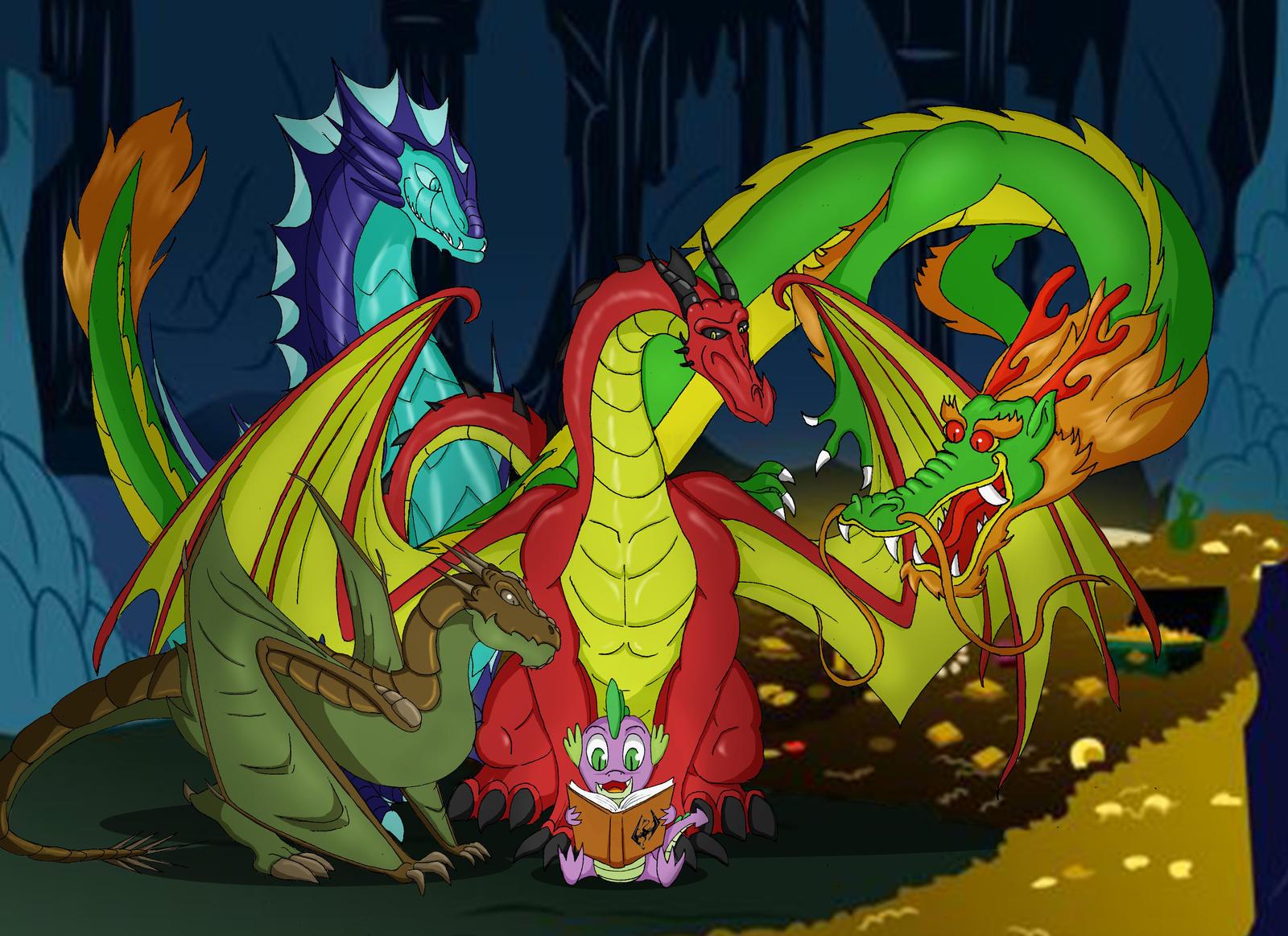 Spike - Dragon Appreciate Day by PapyJr13