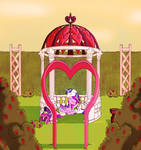 Shining and Cadance - Valentine's Day