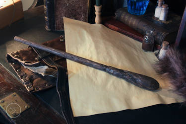 Bill weasley wand replica by enguerrand