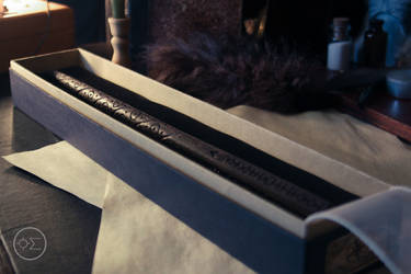 Sirius Black's wand replica by enguerrand