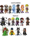 Batman and Watchmen