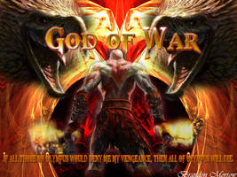 Sweet God Of War Wallpaper by Clairvoyyant