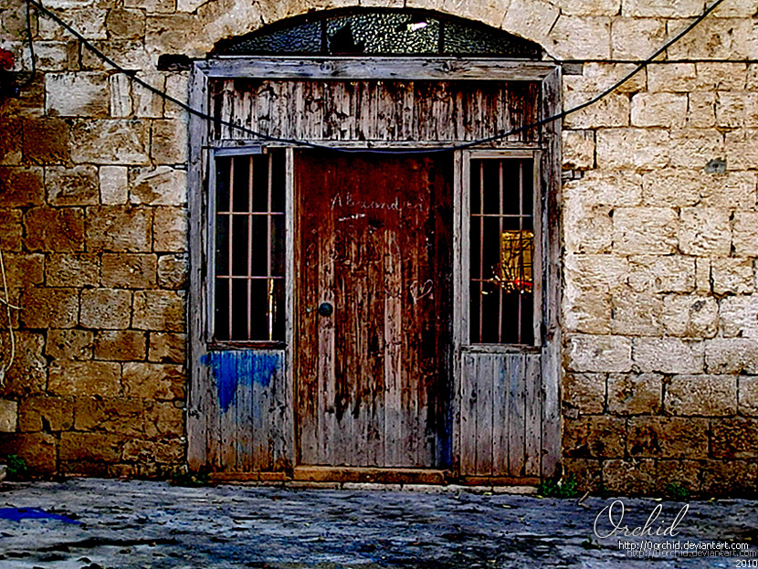 the Old door by 0orchid