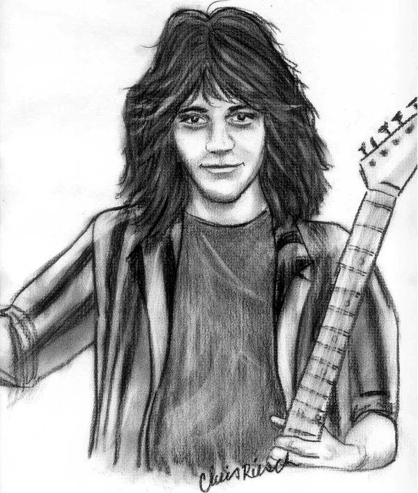 Eddie Van Halen by ou812cmr2