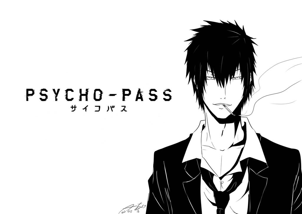 Psycho-Pass: Kogami by 15DEATH