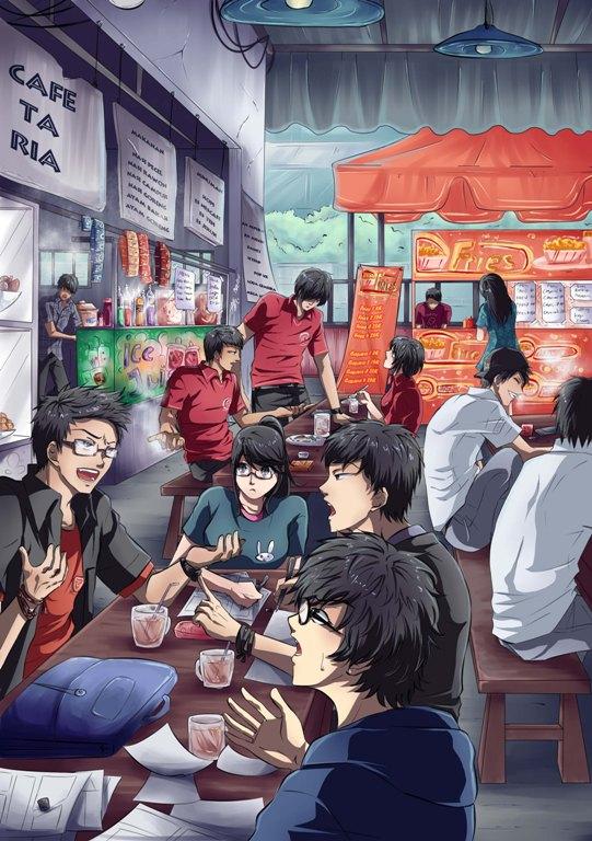 Cafe-ta-Ria by 15DEATH
