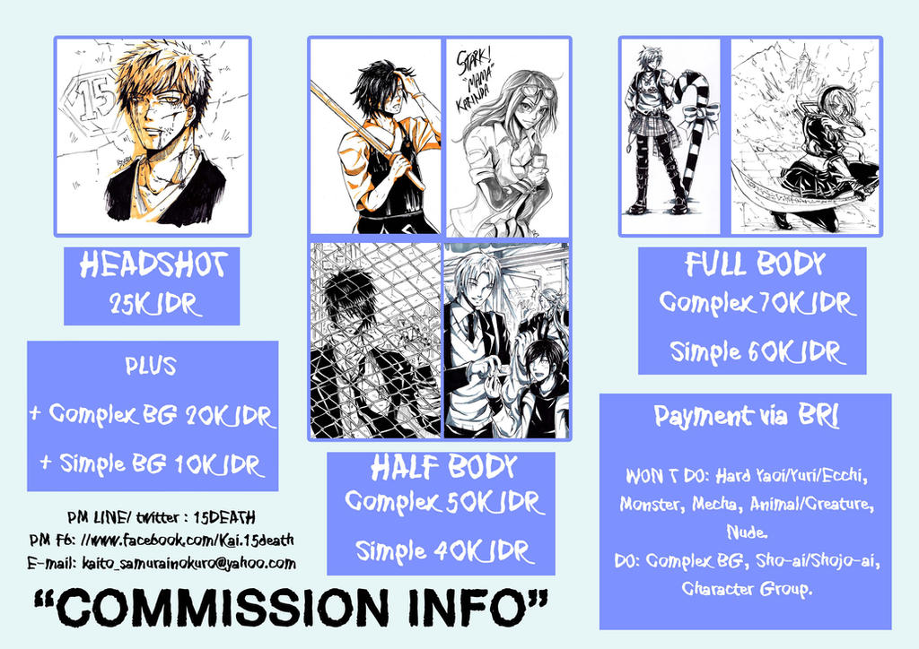 Commission Info by 15DEATH