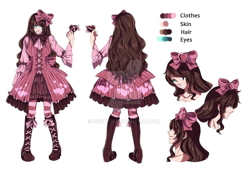 OC design: Valentine by 15DEATH
