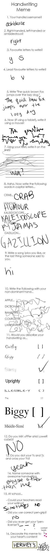 Handwriting Meme by ashblazze