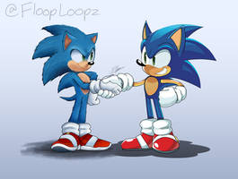 A Meeting of Two Sonics