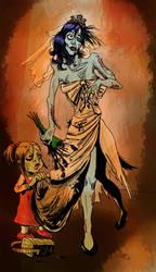 Zombie Bride by Stone-Pi-Comics