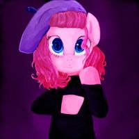 Artsy Pinkie Pie by BiohazardousDouglas