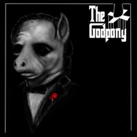 The Godpony (ponification of Don Corleone) by BiohazardousDouglas