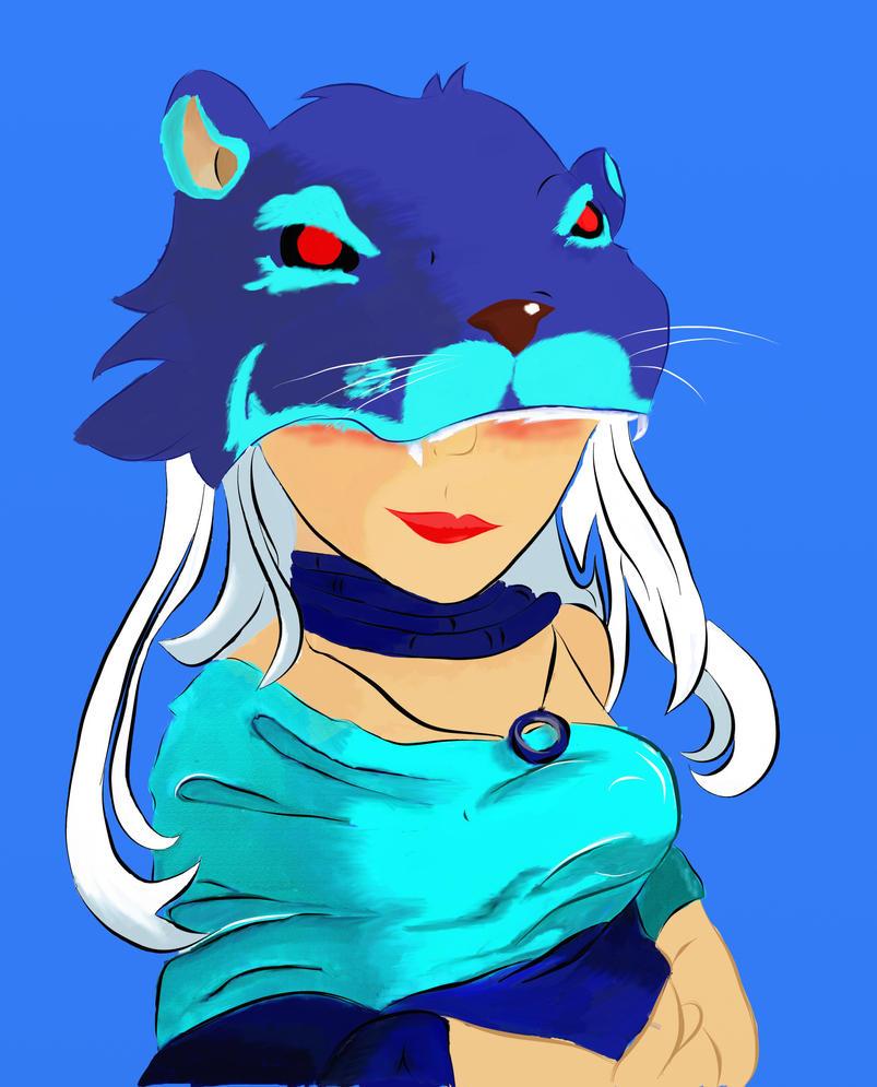 Huntress by Blue-Beau