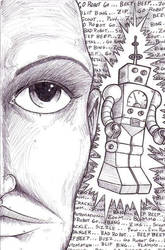 Bad Robot by Churchimus
