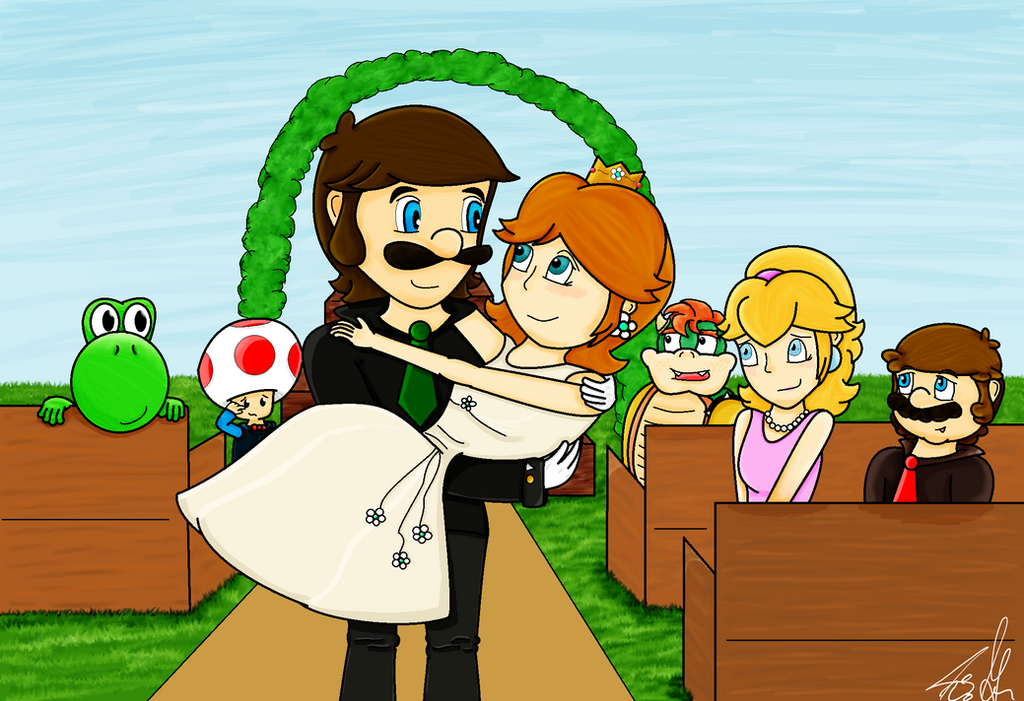 rq luigis and daisys wedding by fannycm on deviantart