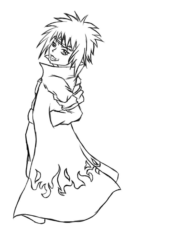 Gambar Naruto Chibi Yondaime Lineart Kimberly Castello Deviantart