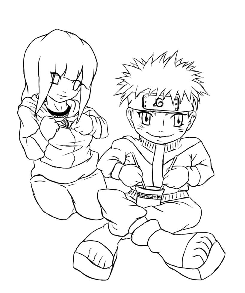naruto eating ramen coloring pages - photo#4