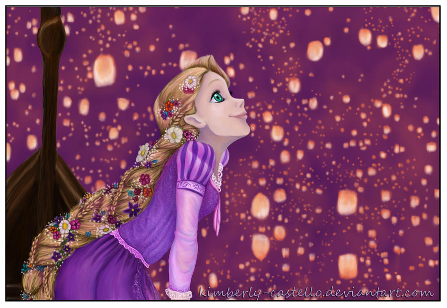 Disney TangledI See The Light By Kimberly Castello
