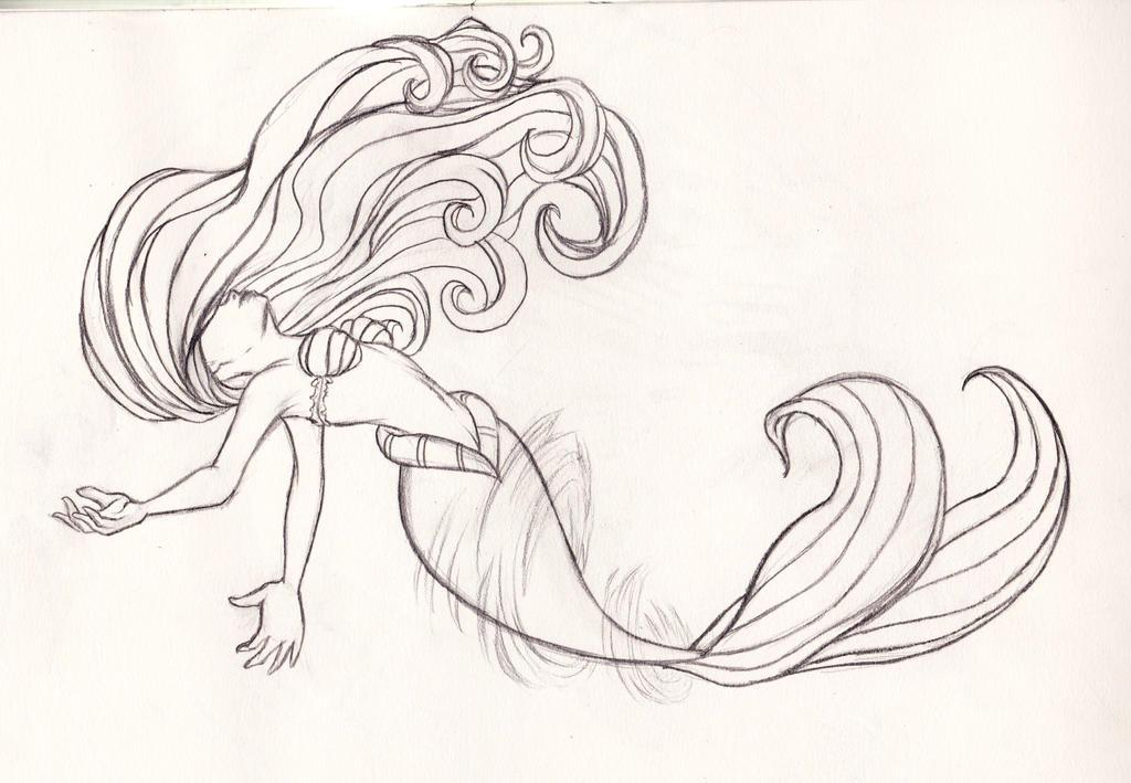 Disney: Ariel Transformation Sketch by kimberly-castello ...