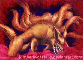 Naruto - Kurama: The Nine Tails by kimberly-castello