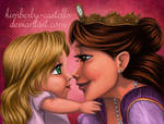 Disney's Tangled: Rapunzel and Her Mom