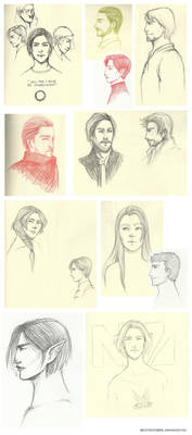 Sketchdump VII: Sketchavember