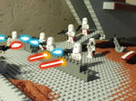 Nova corps squadron on fire by William-Blackbird