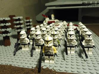 Clone batallion on Caluula LEGO Star Wars 2 by William-Blackbird
