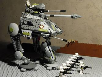 Clone squad on Caluula LEGO Star Wars by William-Blackbird
