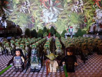 41st Elite Corps on Kashyyyk LEGO Star Wars by William-Blackbird