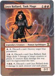 alter Jaya Ballard, Task Mage by dragon-pinguin