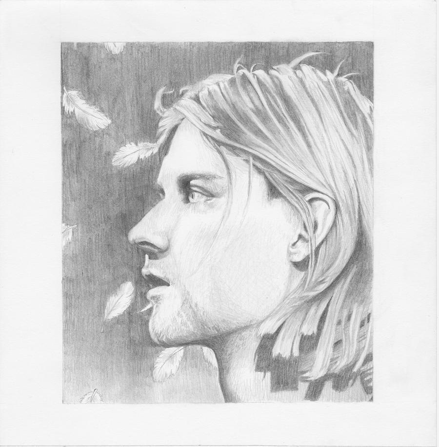 Kurt cobain by ainslynn on deviantart