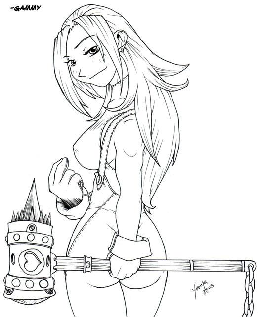 Miss Blacksmith by yuoma